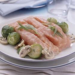 Lomo de salmón con estragón