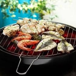 Parrillada de pescado y marisco con salsa de lima