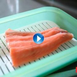 ¿Cómo descongelar pescado en el microondas?