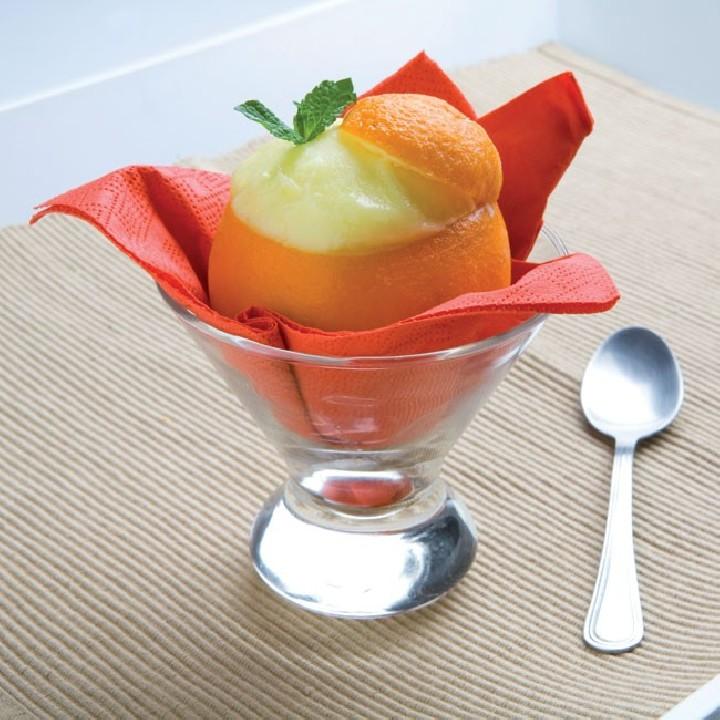 Sorbet de taronja