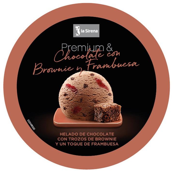 Terrina xocolata gerds i brownie Premium