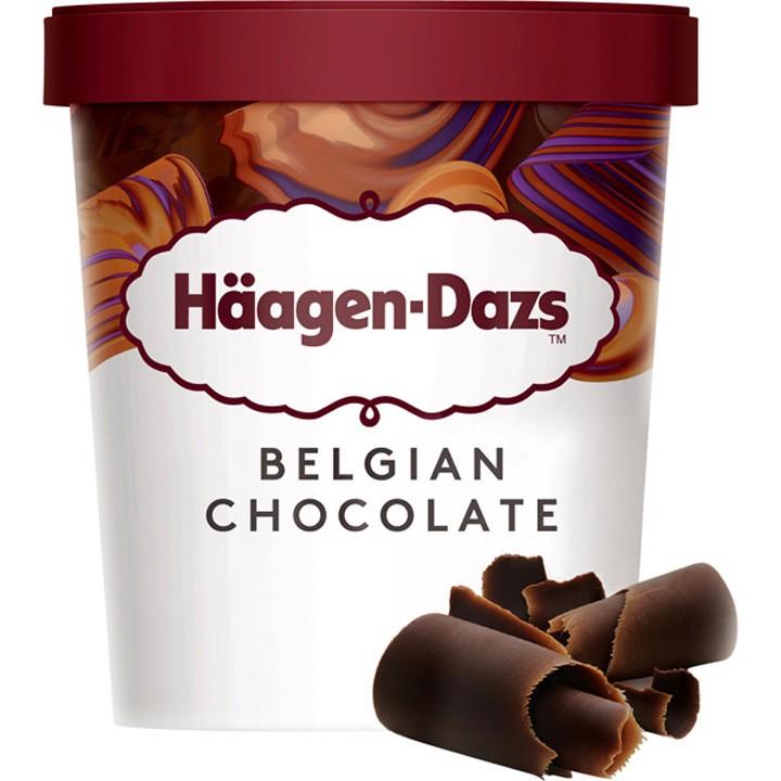 Tarrina chocolate belga H.Dazs