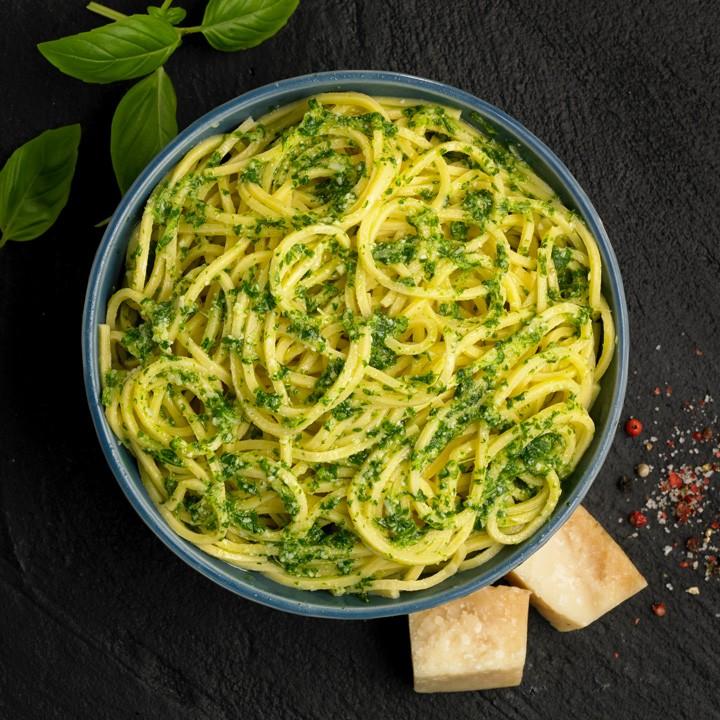 Spaghetti al pesto Listísimos