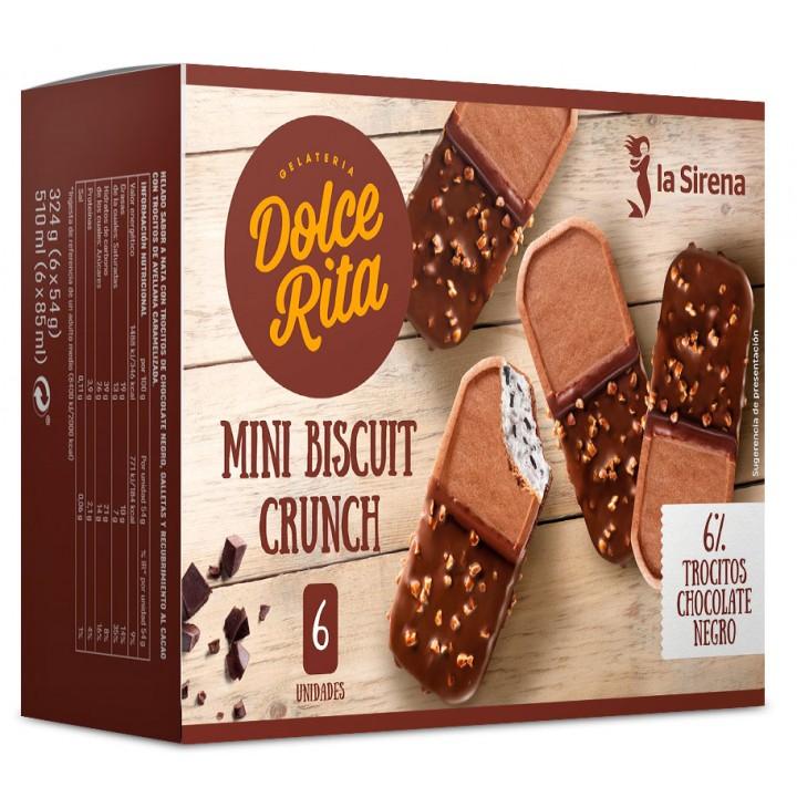 Mini biscuit nata y chocolate