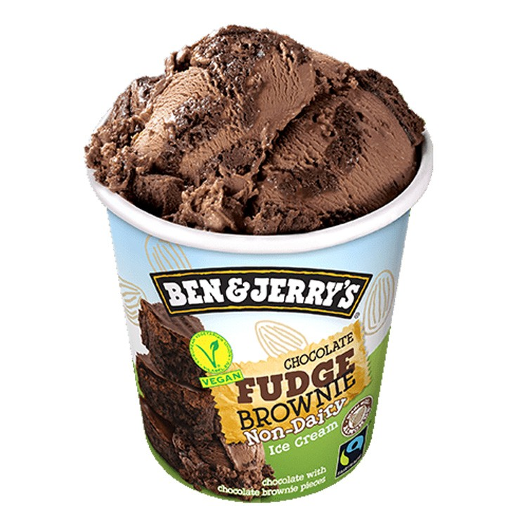 Tarrina Ben&Jerry's Vegan Choco Fudge Brownie