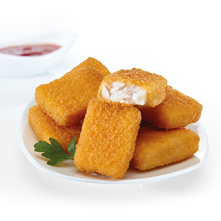 Nugget de merluza con panko