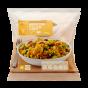 Arroz al curry con pollo