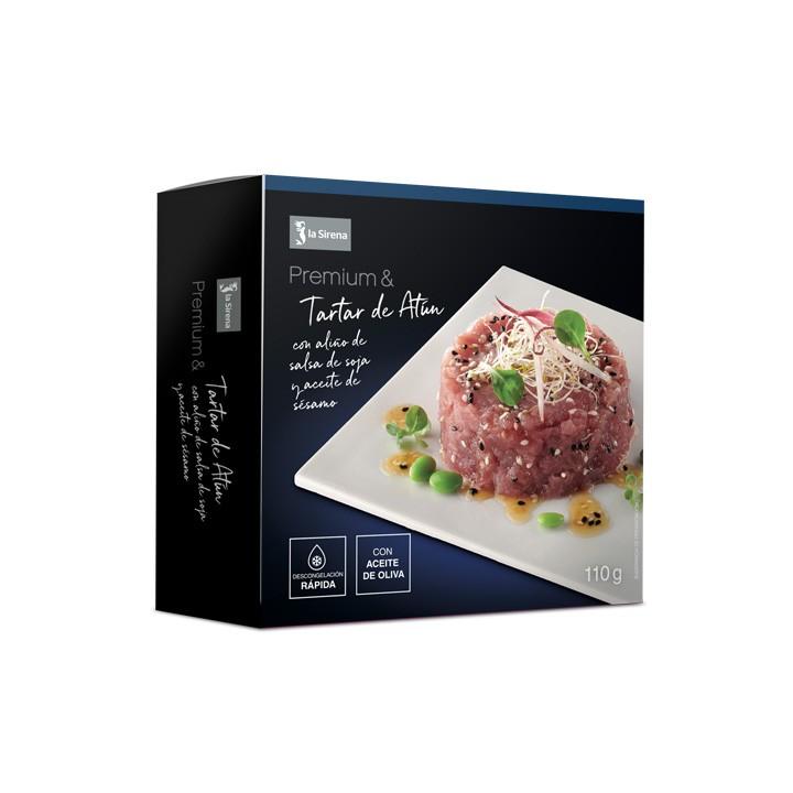 Tàrtar de tonyina amb amaniment Premium