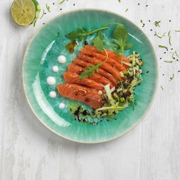 Sashimi de salmó